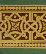 Interlocking Design Painting, Circa 1900-main-KB1494