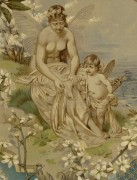 Angels & Blueberries, 1886-detail 2-KB1656