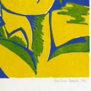 Abstract Woodcut - Trihelio II, 1996-detail-10464M