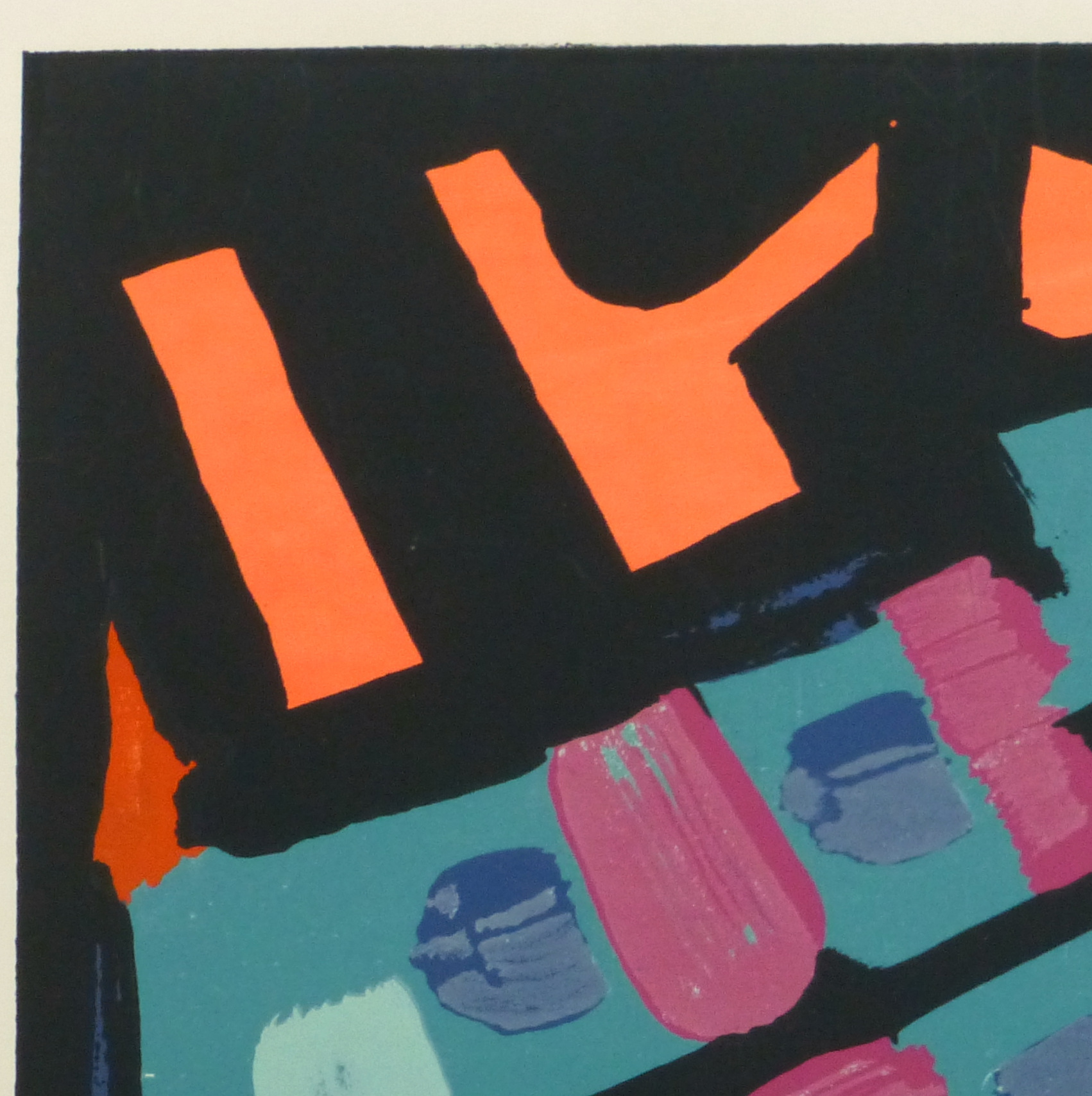 Abstract Lithograph, 1978-detail 2-10477M