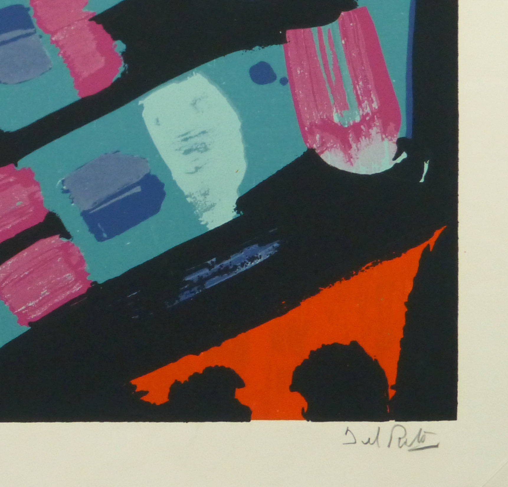 Abstract Lithograph, 1978-detail-10477M