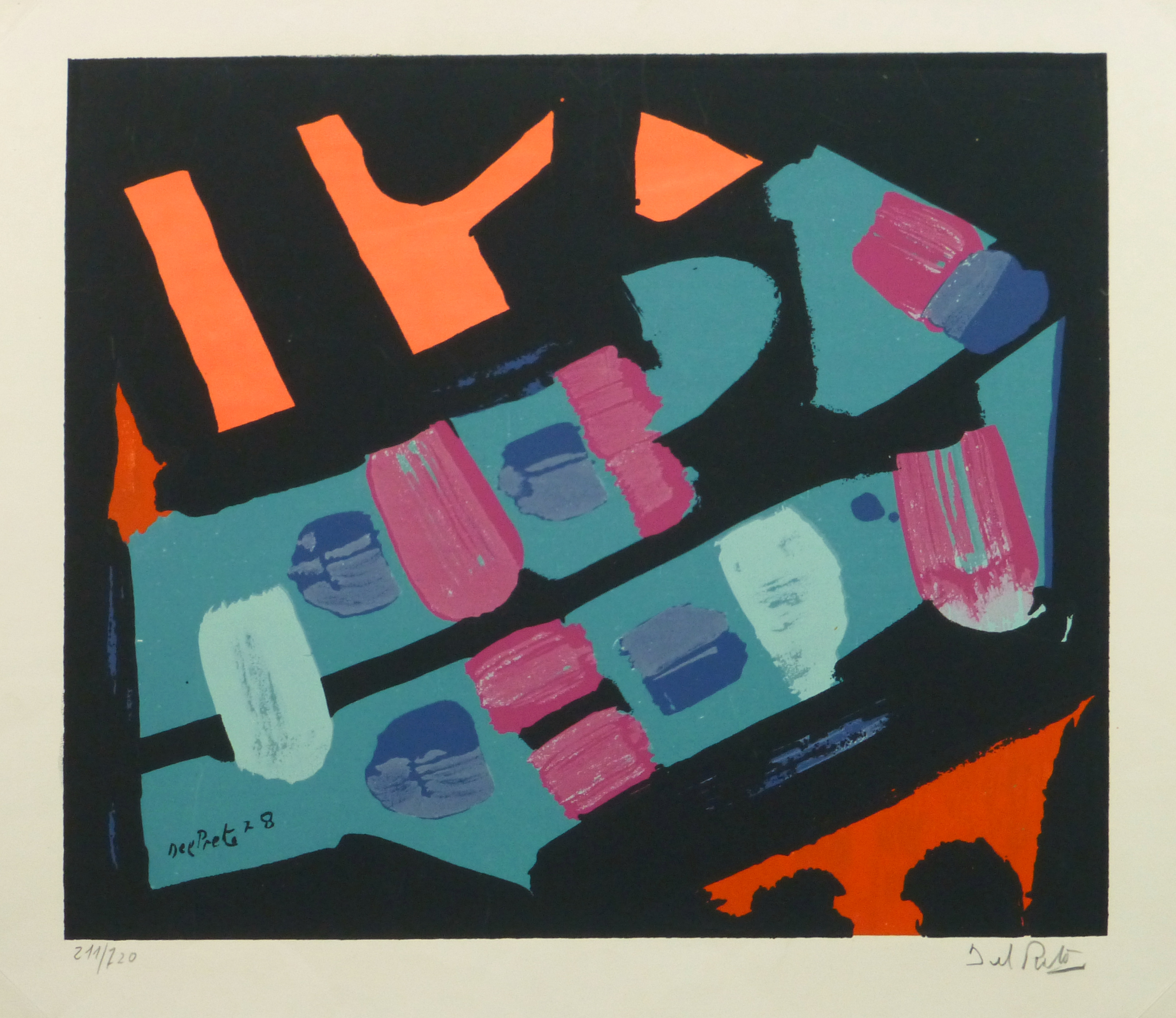 Abstract Lithograph, 1978-main-10477M