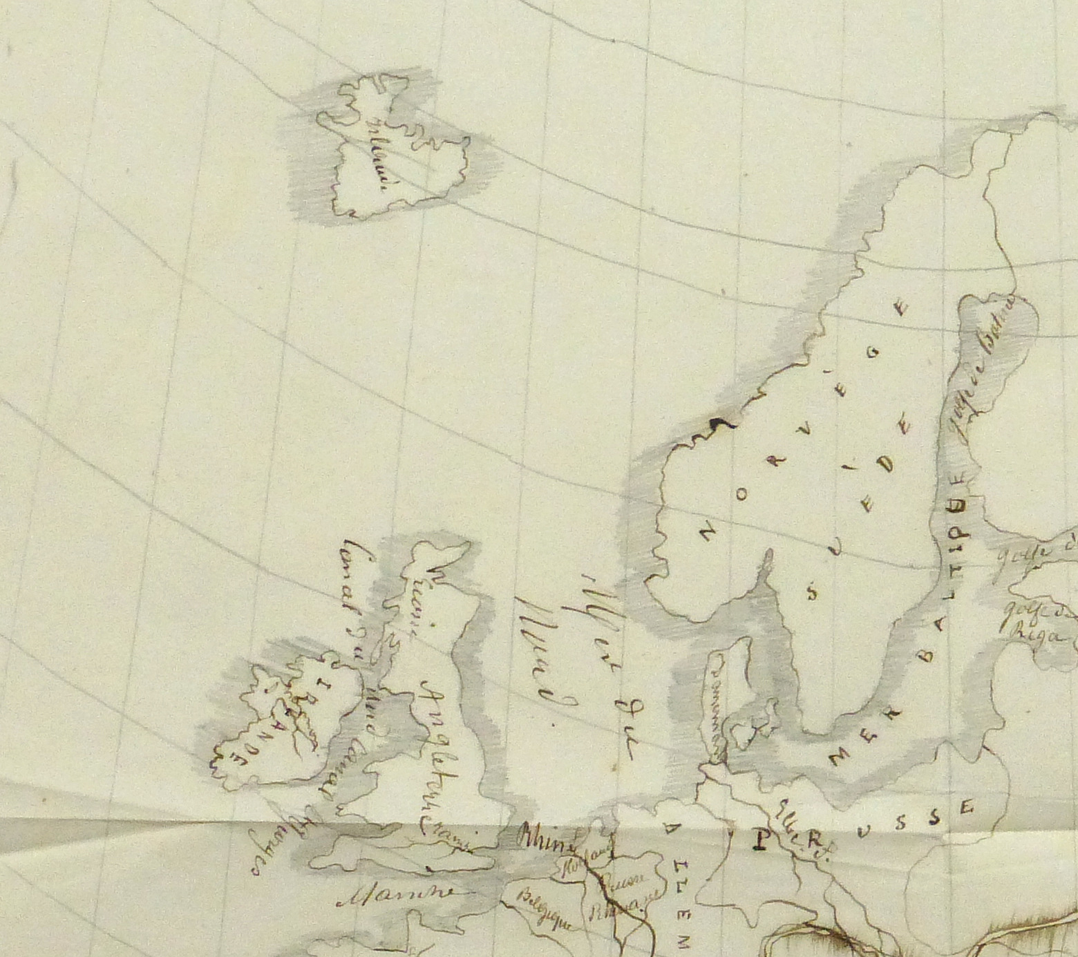 Map of Europe, 1856-detail 2-10496M