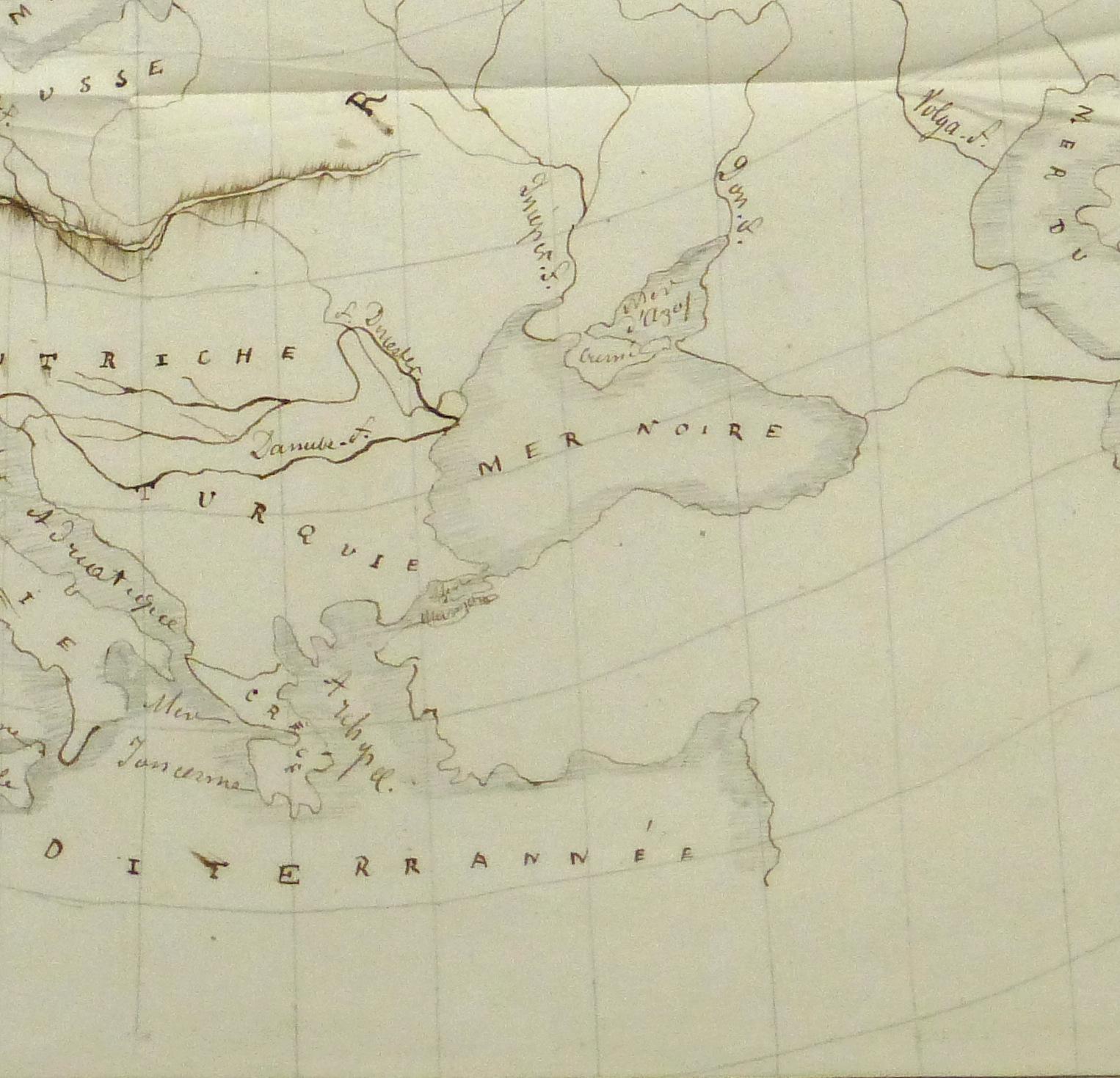 Map of Europe, 1856-detail-10496M