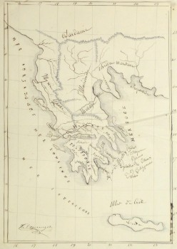 Map of Greece, 1856-main-10499M