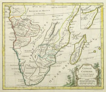 Map of South Africa, 1778-main-10501M