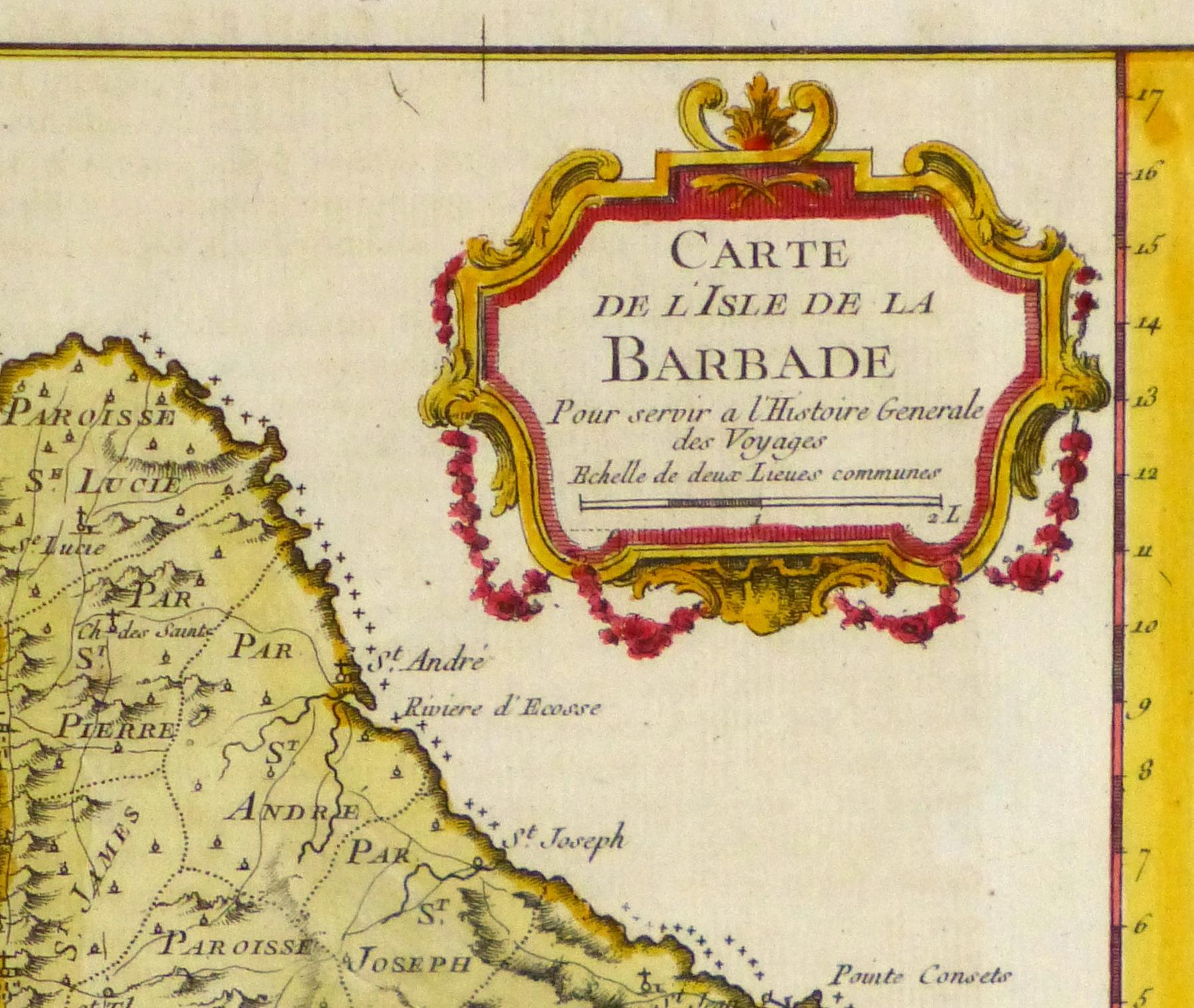 Map of Barbados, -detail 2-10502M