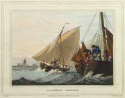 Aquatint Etching- Mackerel Fishing, 1813-main-10541M