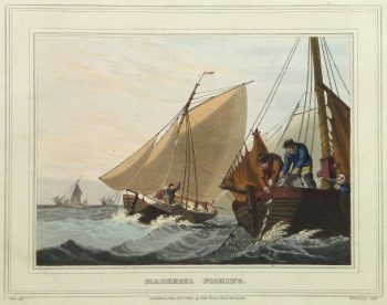 Aquatint Etching- Mackerel Fishing, 1813-main-10541M