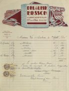 Duchess of Maillé Linens Receipt, 1932-main-10559M