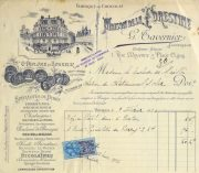 Duchess of Maillé Confections Receipt, 1926-main-10568K