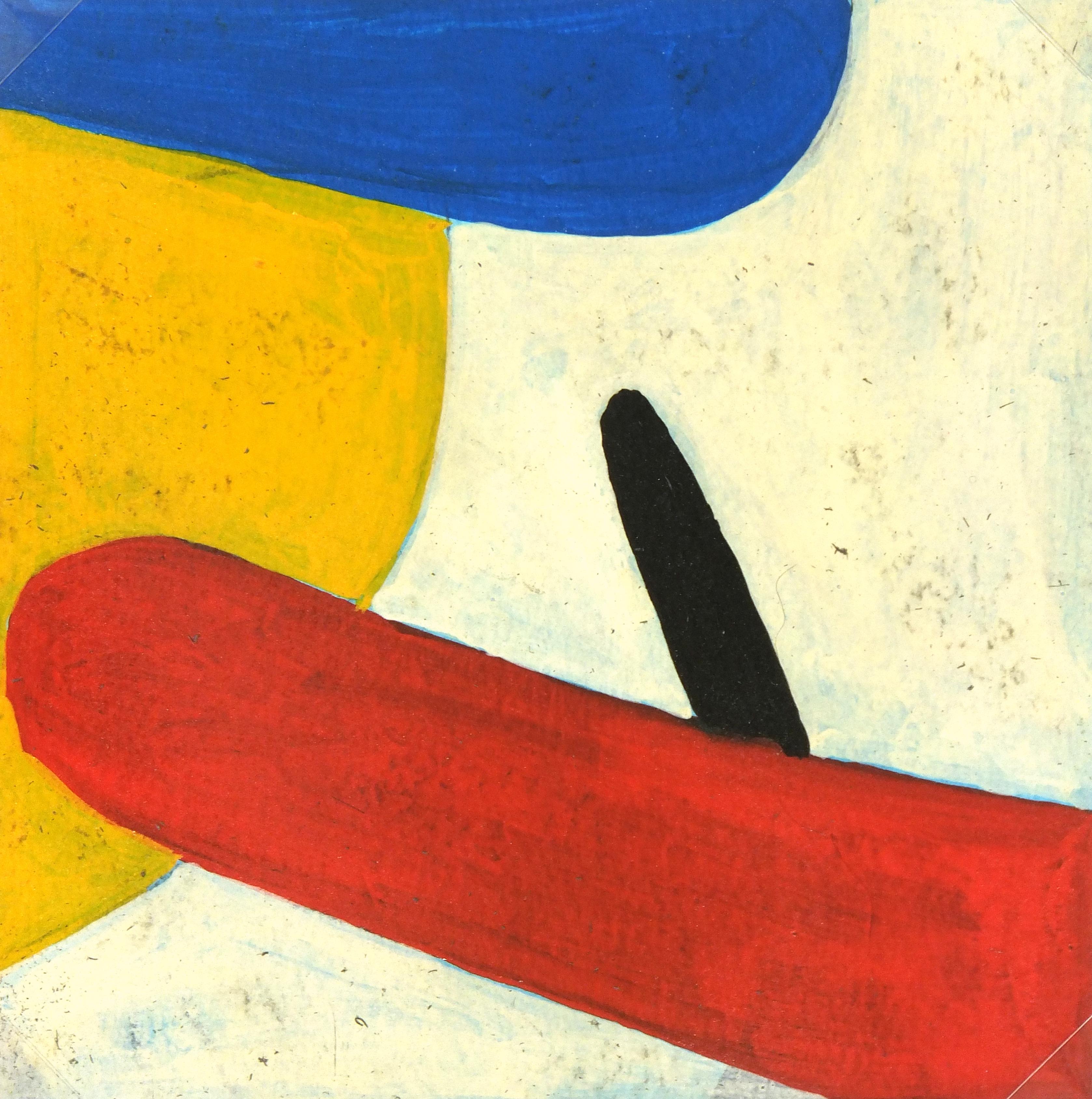 Abstract Oil Painting, Circa 1940-main-5214MG