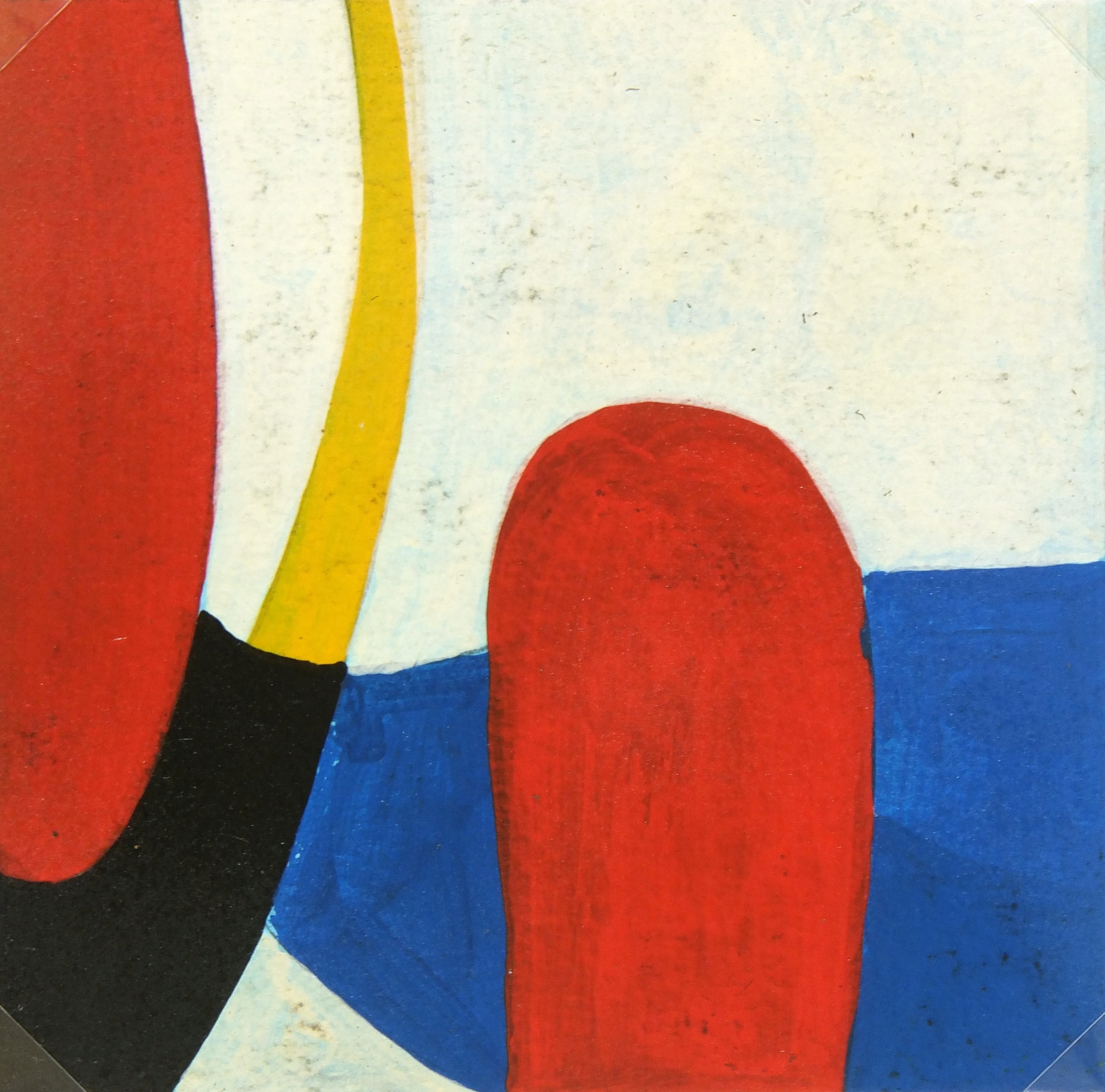 Abstract Oil Painting, Circa 1940-detail-5218MG
