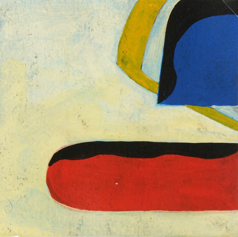 Abstract Oil Painting, Circa 1940-main-5219MG