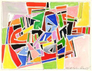 Watercolor Abstract, 2006-main-5988G