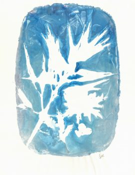 Abstract Acrylic - Shockingly Blue, 2013-main-6006G