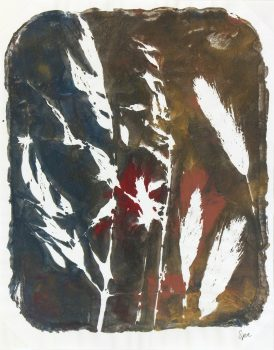 Abstract Acrylic - Grasses, 2013-main-6008G
