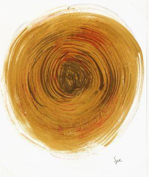 Abstract Acrylic - Setting Sun, 2013-main-6011G