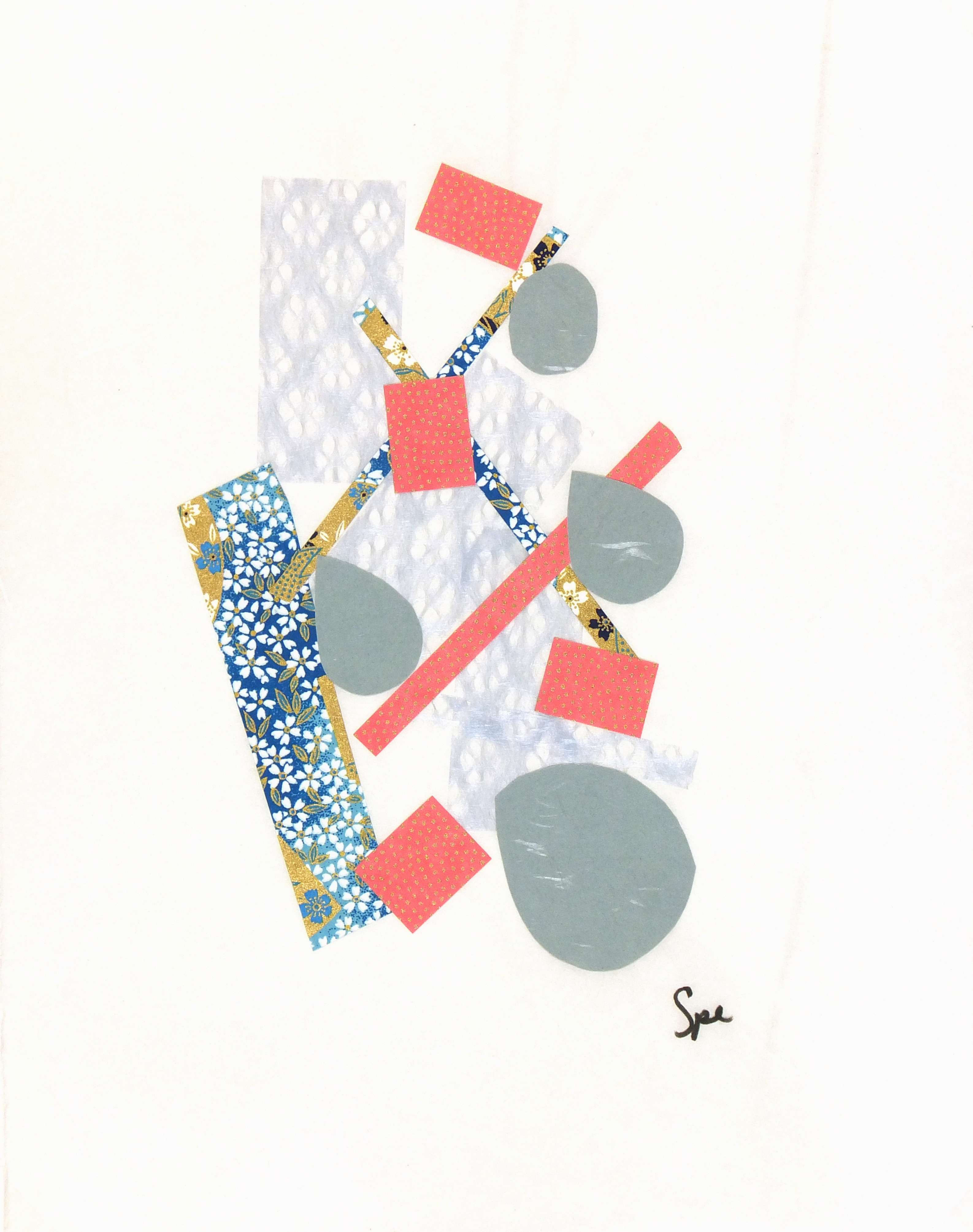 Abstract Collage - Japanese Modern III, 2013-main-6093G