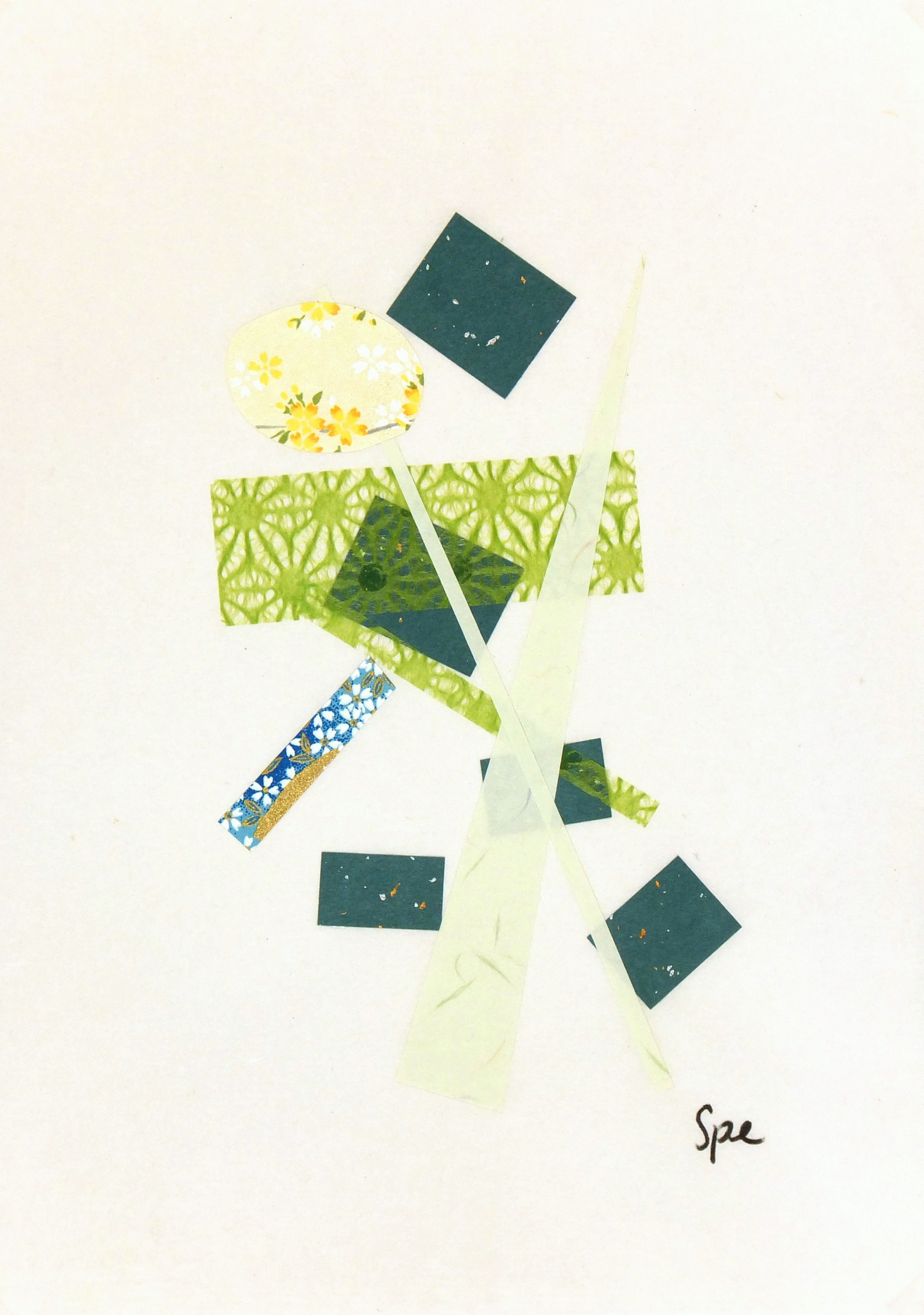 Abstract Collage - Japanese Modern V, 2013-main-6095G