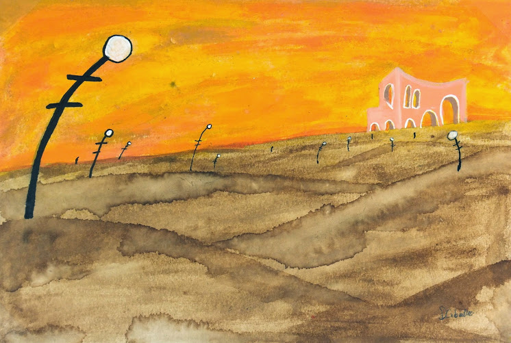 Abstract Gouache - Dreamscape, 2012-main-6374G