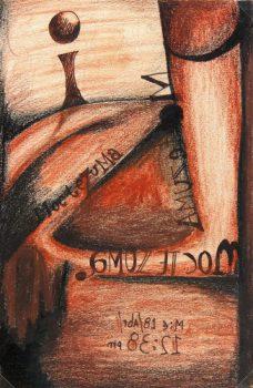 Charcoal & Pastel - Moctezuma, 2012-main-6380G
