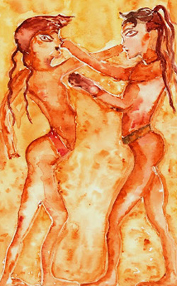 Modern Watercolor - Femmes & Fire-main-7515G