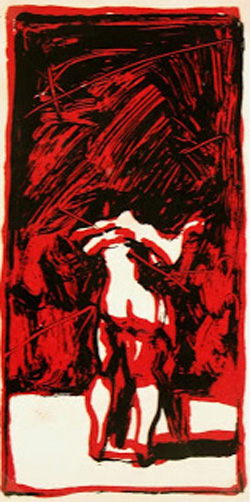 Lithograph - Nude Dancers-main-7520G