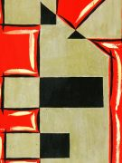 Abstract Geometric Gouache, Circa 1950-detail-7525G