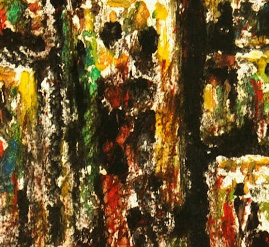Abstract Acrylic - Windows-detail-7535G