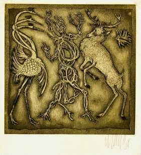 Etching - Mythological Creatures-main-7548G