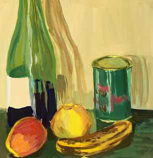 Oil Painting - Wine & Fruit Still Life-main-7552G