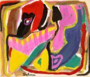 Gouache Abstract - Vibrancy-main-7569G