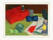 Gouache Still Life - Crafting Corner-matted-7571G