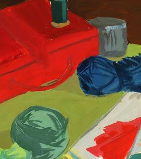 Gouache Still Life - Crafting Corner-detail-7571G