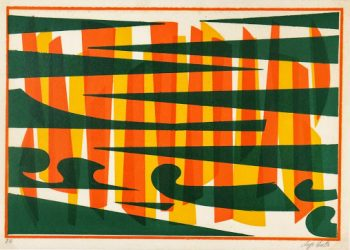 Abstract Lithograph - A Fresh Perspective-main-7582G