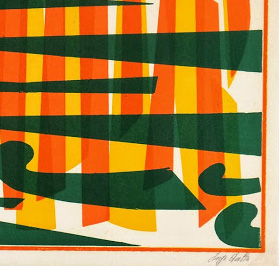 Abstract Lithograph - A Fresh Perspective-detail-7582G