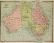 Map of Australia, 1890-main-8204K