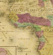 Map - Africa, 1844-detail-8562K