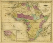 Map - Africa, 1844-main-8562K