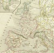 Roman Empire Map, 1845-detail 2-9404K
