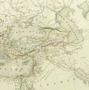 Roman Empire Map, 1845-detail-9404K