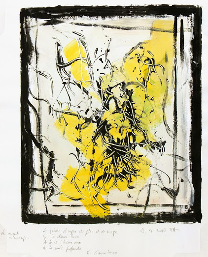 Abstract Acrylic -Le Concert Interrompu, 2013-main-5348K