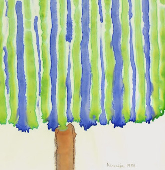 Watercolor Abstract - Ever Rising, 1980-detail-5369K