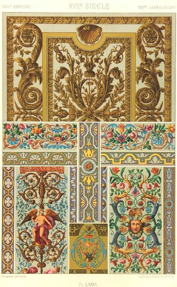 Art Nouveau Designs, Circa 1890-main-5623K