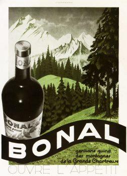 French Aperitif Wine Print, Circa 1930-main-6166K
