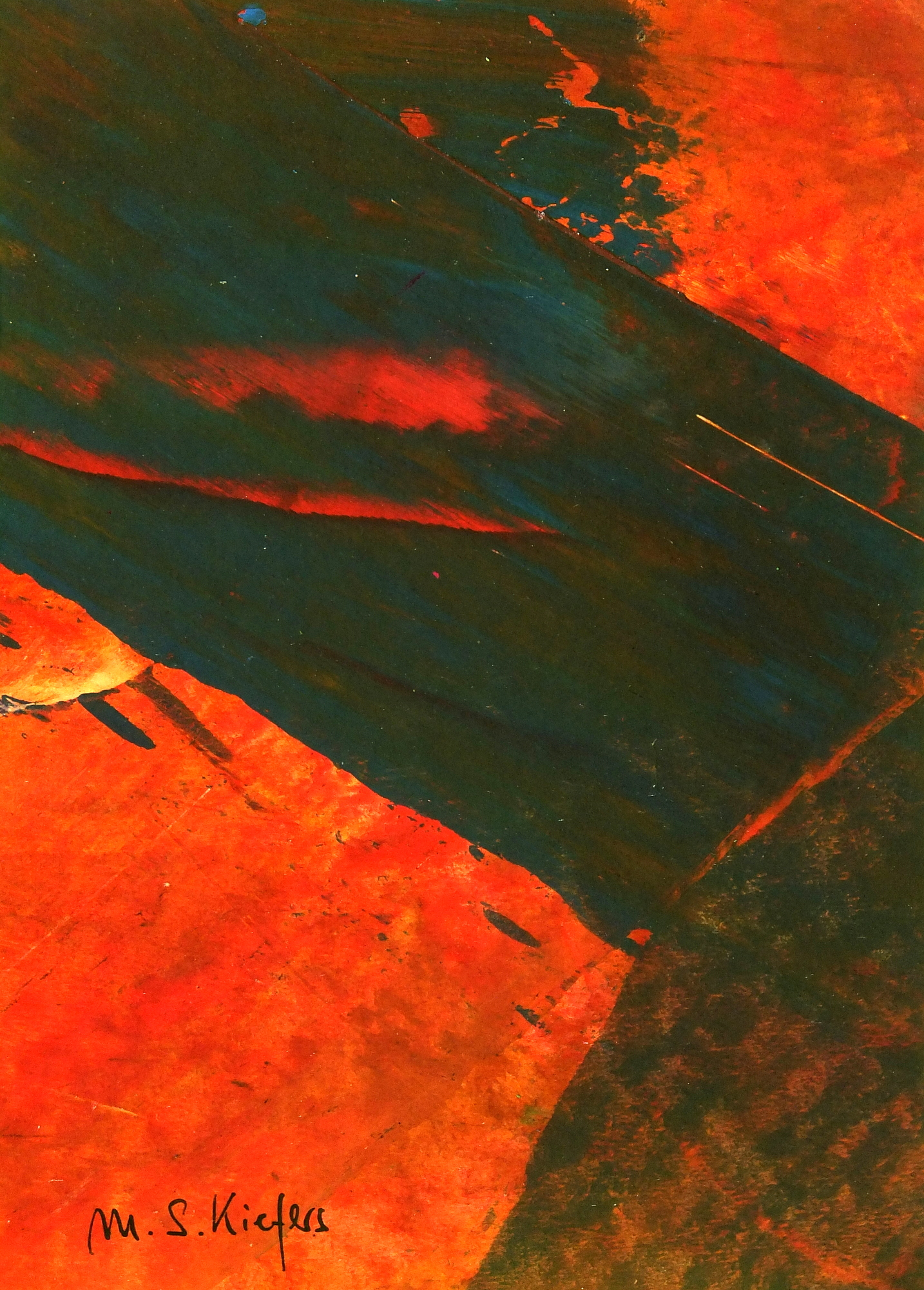 Kiefers Abstract, 1980's-main-6780K