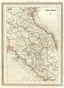 Central Italy Map, 1885-main-7248K