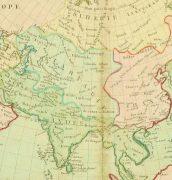 Map of Asia, 1767-detail-8122K