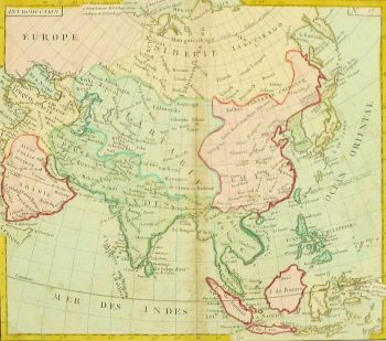 Map of Asia, 1767-main-8122K